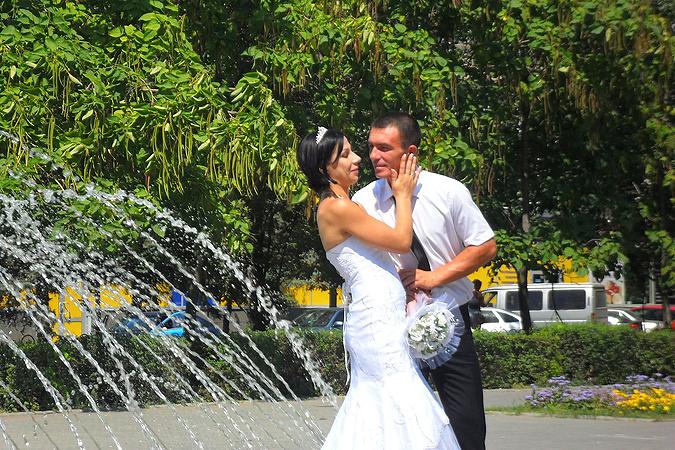 Прямой эфир сжег жену в свадебном платье
