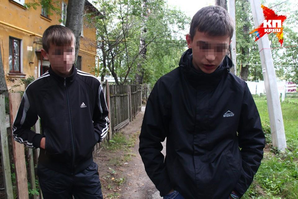 """Школьники из Нижнего, жестоко избившие бабушку, стали """"героями"""" Интернета."""