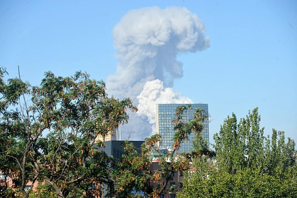 Предположительно, каратели обстреляли город ракетами «Точка-У»