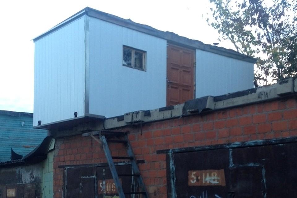 Гараж двухэтажный в москве купить купить подъемные ворота на гараж