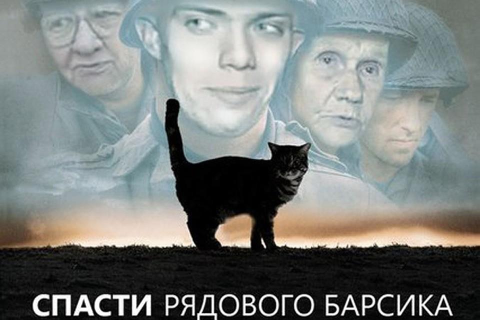 Солдат спасает кота новгород