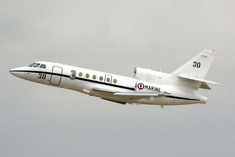 Самолет Falcon 50. Фото: Wikipedia