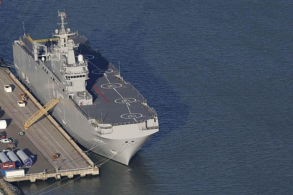 """НАТО не может себе позволить такую дорогостоящую технику, как """"Мистраль"""""""