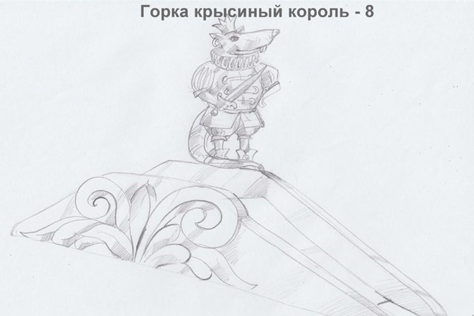На центральной площади Ижевска появится скульптура Петра Чайковского и коза изо льда. Фото: Администрация Ижевска.