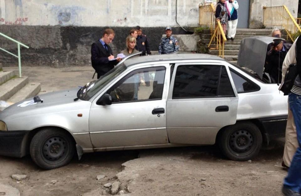 Тела убитых влюбленных были найдены в машине. Фото: vk.com