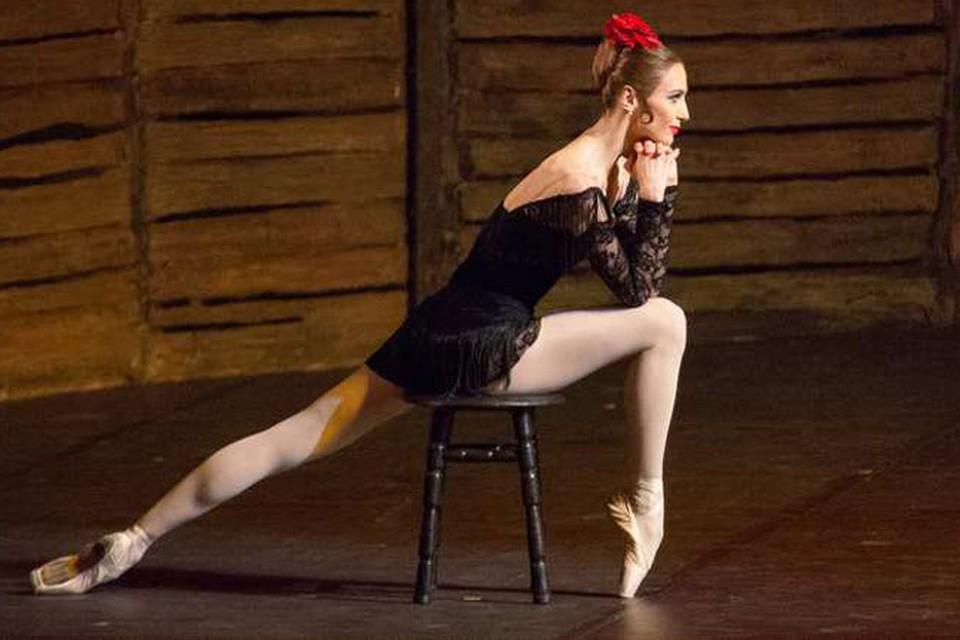 Светлана Захарова снова пережила страсти Кармен. ФОТО: Предоставлено пресс-службой