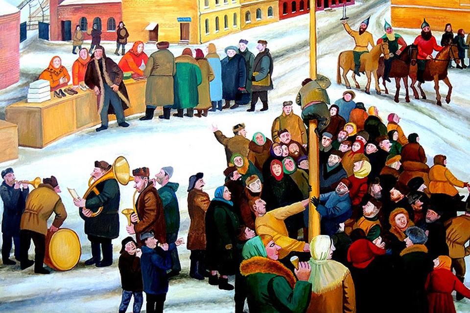 В  проект войдут более 20 картин и арт-объектов,  которые объединяет тема праздников, народных гуляний, маскарада и карнавала.
