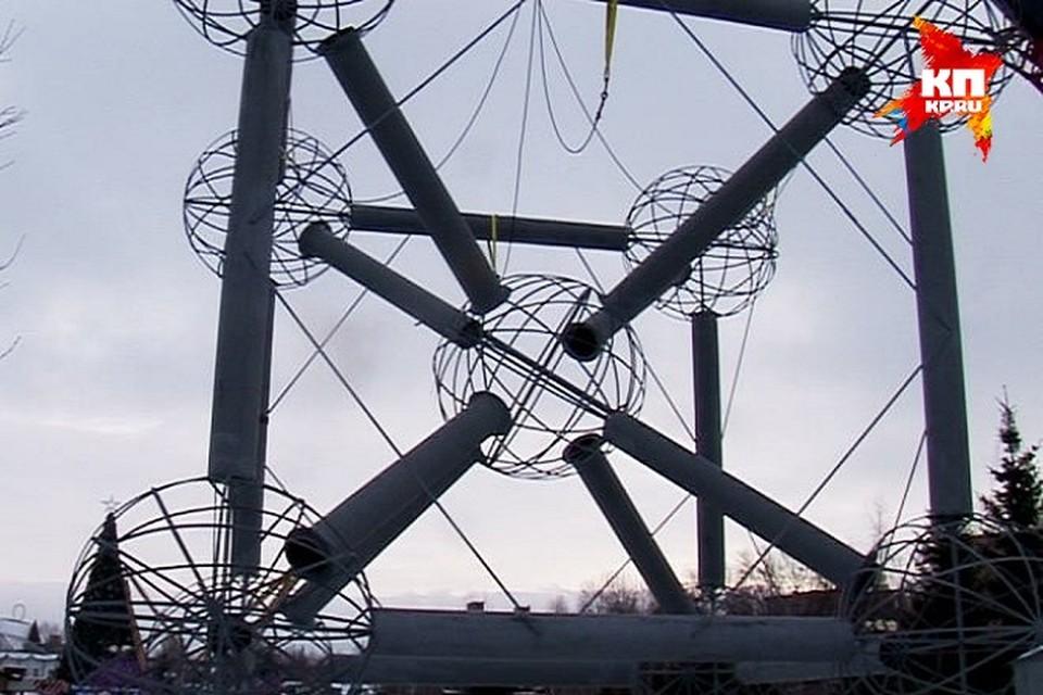 Фото: скрин с видеосюжета о большой стройке в Нижнекамске.