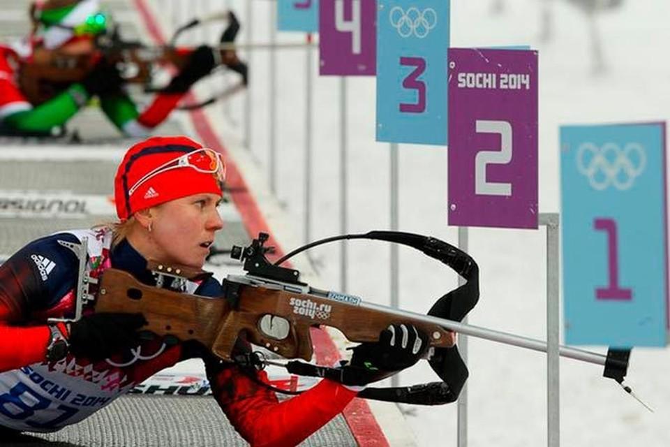 Известная омская биатлонистка завоевала на Играх «серебро».     Фото: Официальный сайт СБР