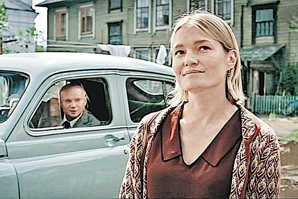 Виктория Толстоганова в роли Тоньки-пулеметчицы. Фото: Первый канал.