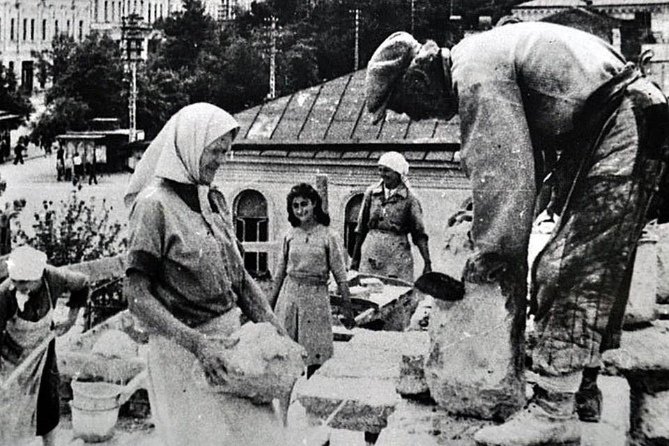 Ленинградский театр драмы попал в оккупацию