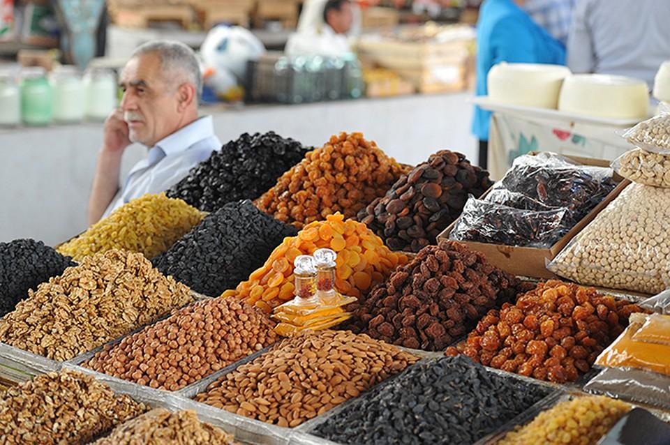 Сухофрукты орехи рынок