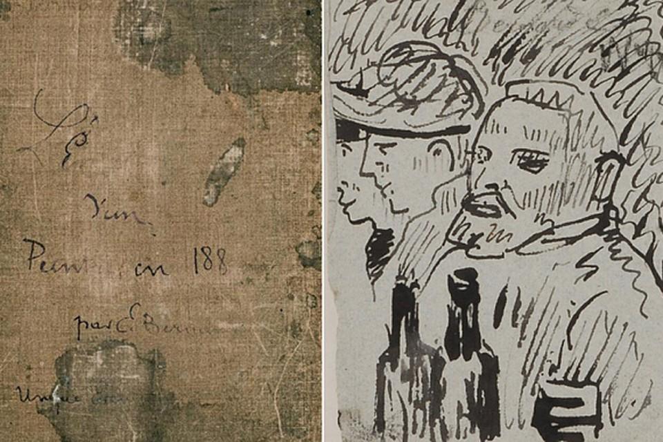 В альбоме с набросками, которому 130 лет, найден ранее неизвестный портрет Винсента Ван Гога