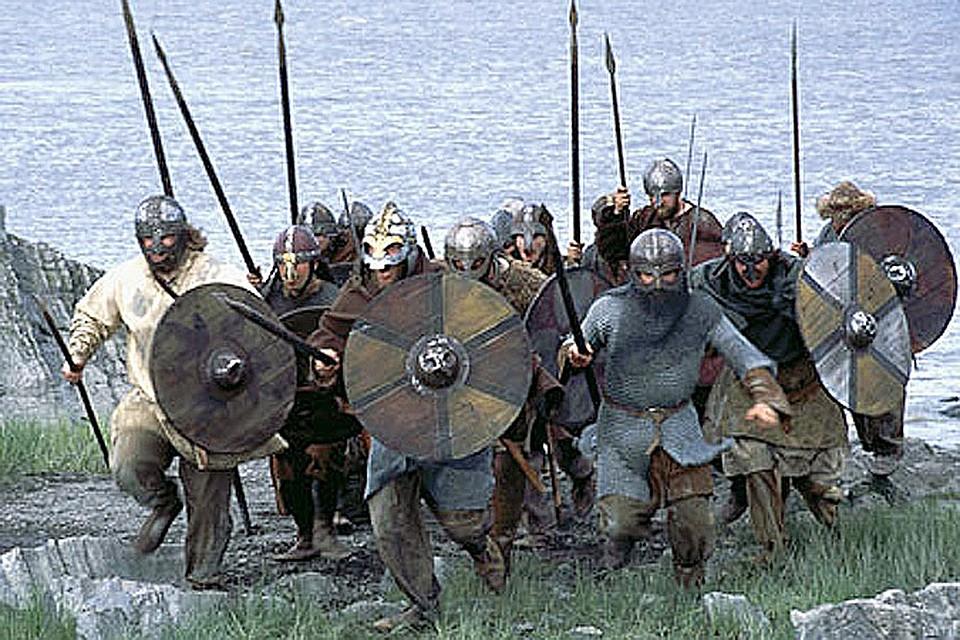 Сексуальное нападение викингов