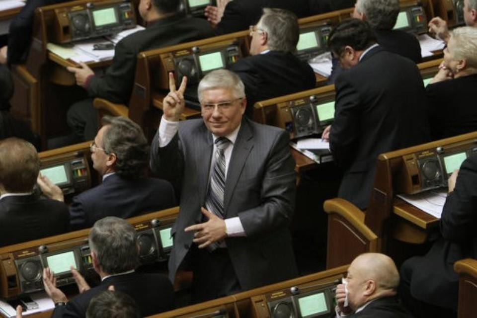 Бывший первый заместитель главы Партии регионов Михаил Чечетов