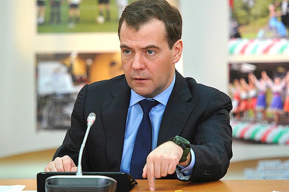 Медведев назвал политическим пиаром призывы Украины о снижении цен на газ