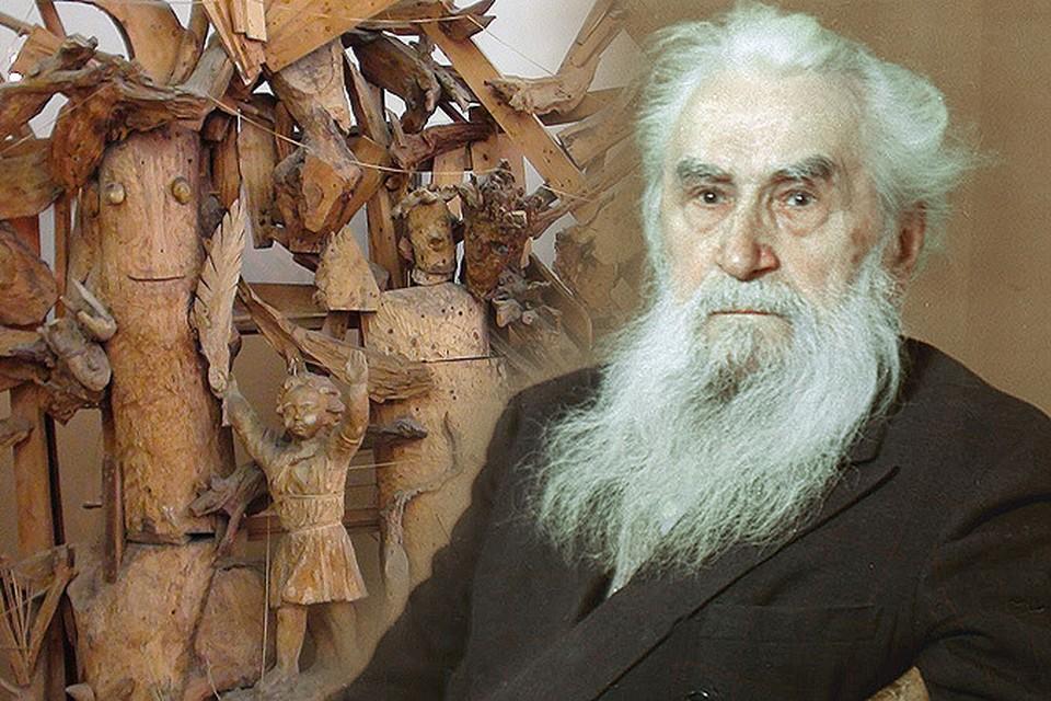 Сергей КОНЕНКОВ, бородатый скульптор-пророк.