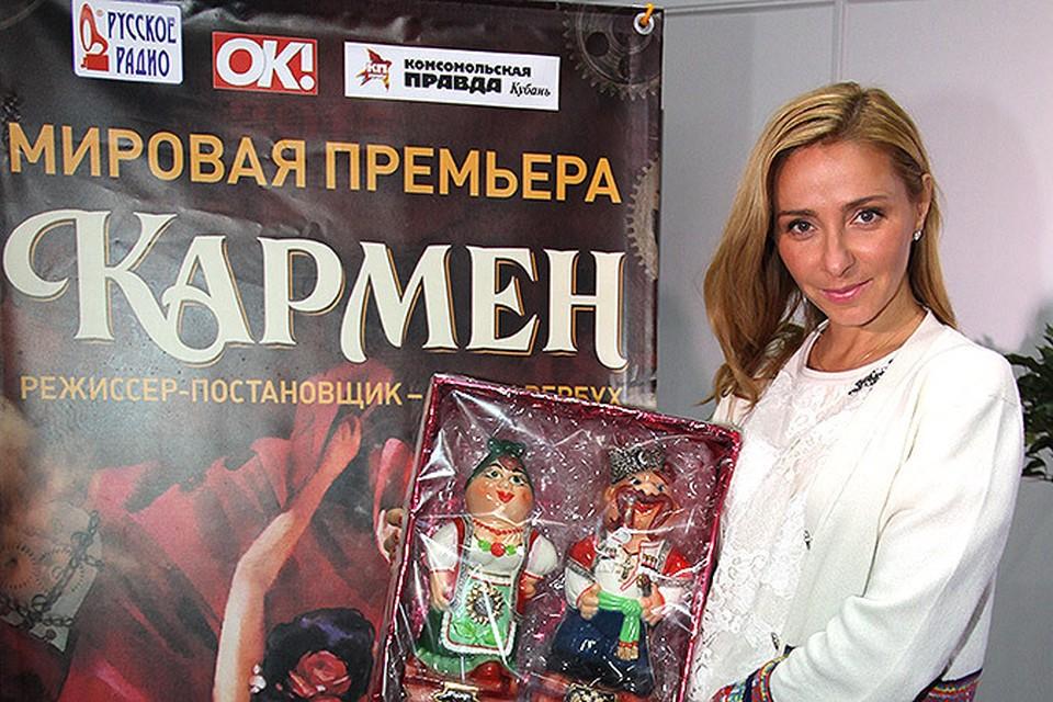 Навка все лето будет исполнять главную роль Кармен в новом ледовом шоу Ильи Авербуха