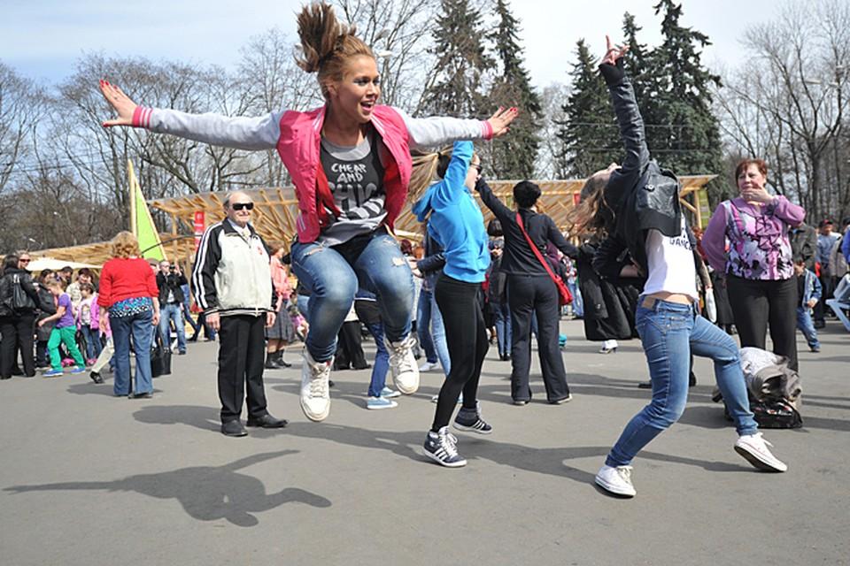Московские парки присоединились к акции в 2012 году