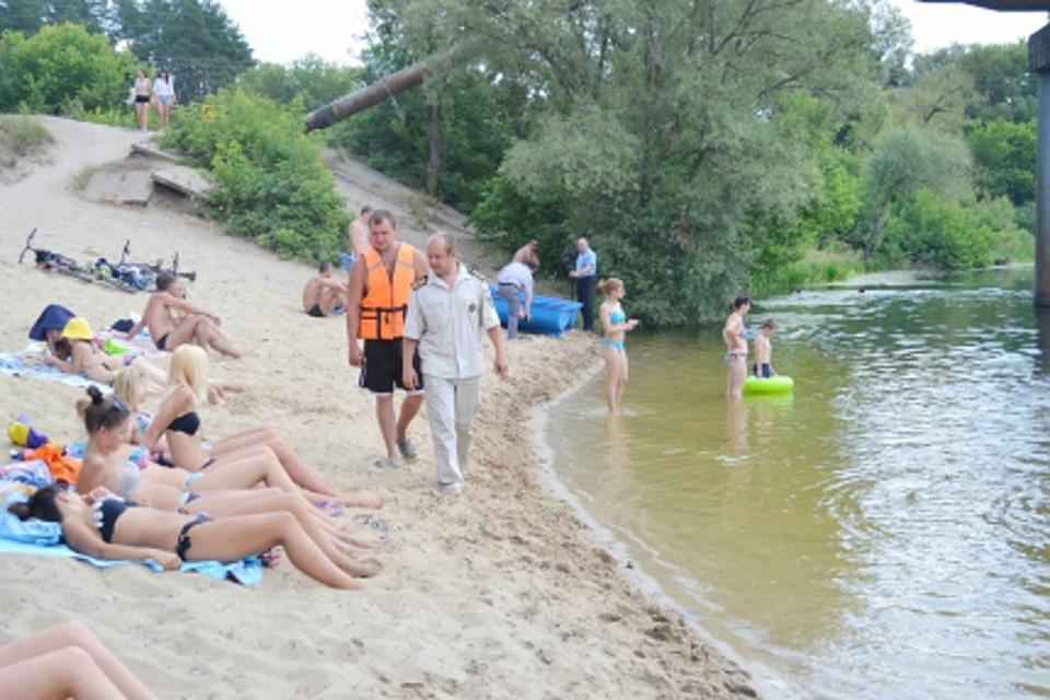 В Курске открывается купальный сезон. Спасатели посетят родительские собрания в школах
