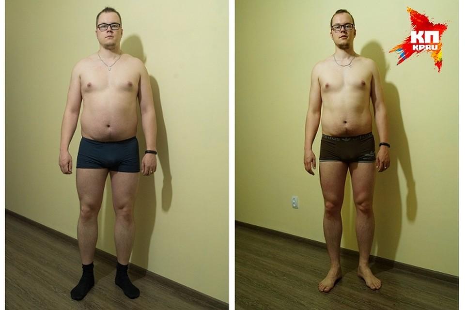Как сбросить вес за месяц для мужчин