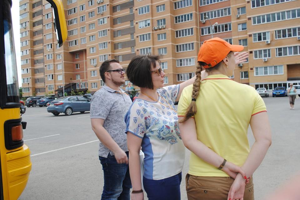 Участники экскурсии смогли за короткое время познакомиться с наиболее интересными предложениями от застройщиков. Фото: Анна Мухтарова
