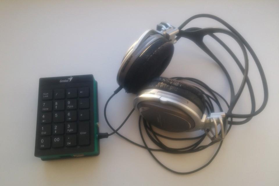 Тифлоплеер — устройство для прослушивания аудиокниг в специальном формате. Фото: Виталий Муниров