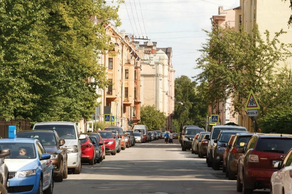 Проходит от Большого до Кронверкского проспекта на Петроградской стороне.