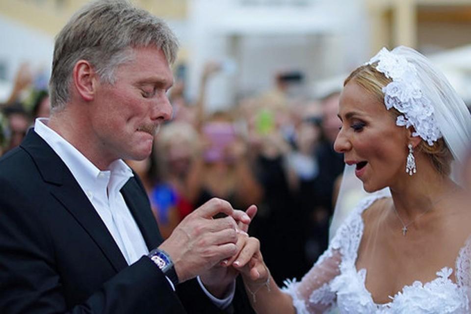 Свадьба Дмитрия Пескова и Татьяны Навки - самое обсуждаемое событие последних трех дней