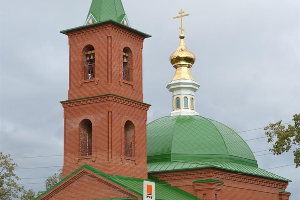 В Удмуртии восстановили Храм Святой Троицы в селе Юкаменское