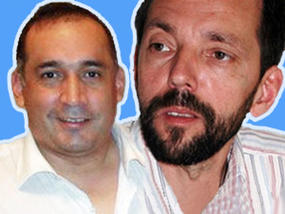 Бетанкура (слева) и Мессмера убили гантелей