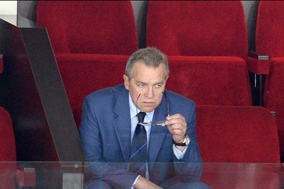 Сумма, в хищении которой подозревают Владимира Бережкова, выросла в 22 раза. Фото: khl.ru.