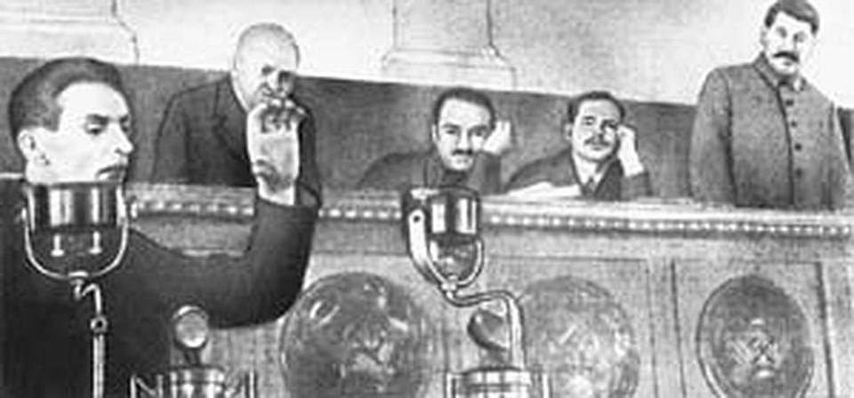 Сталин любил редактировать доклады «народного агронома» Трофима Лысенко. (Фото из газеты «Правда»).