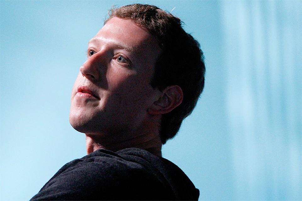 Основатель Facebook Марк Цукерберг - самый влиятельный человек планеты