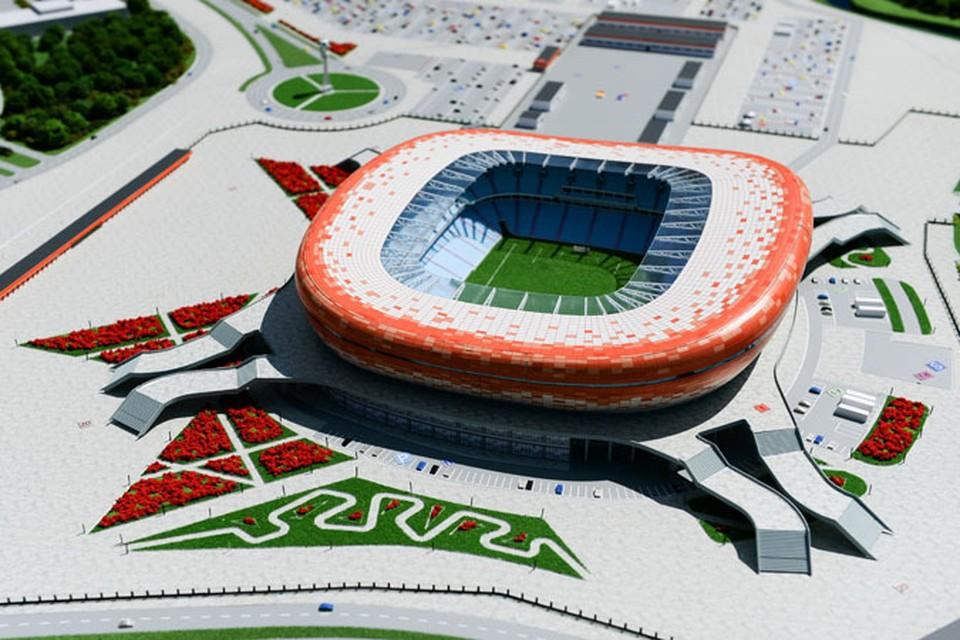 Стадион в Саранске станет одной из арен чемпионата мира по футболу.