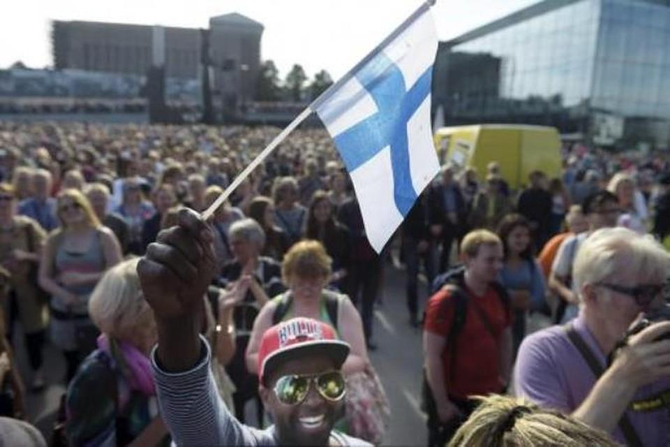 Беженцы в финляндии передача