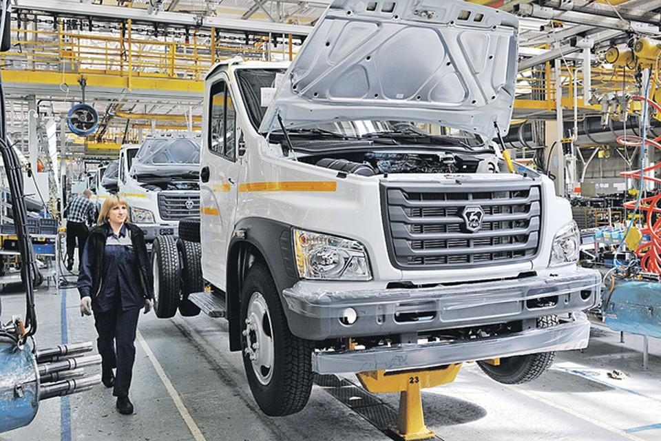 С осени 2014 года начат выпуск грузовика «ГАЗон NEXT» -  это одна из 20 новинок ГАЗа за последние несколько лет. Фото: Семен ГОРЕЛОВ