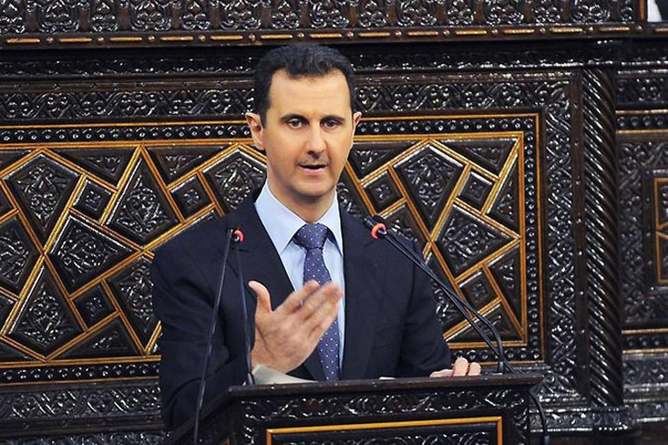 Башар Асад попросил военной помощи России