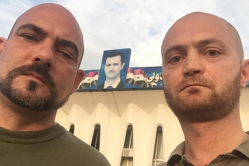 Дмитрий Стешин и Александр Коц: И мы пообещали ей, что приедем еще раз — в дни светлые, с женами и детишками. Они тоже должны увидеть нашу Сирию.