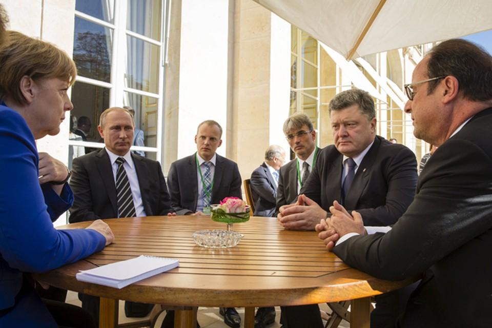 Одним из итогов Нормандской встречи является то, что местные выборы по законам ДНР и ЛНР отложены