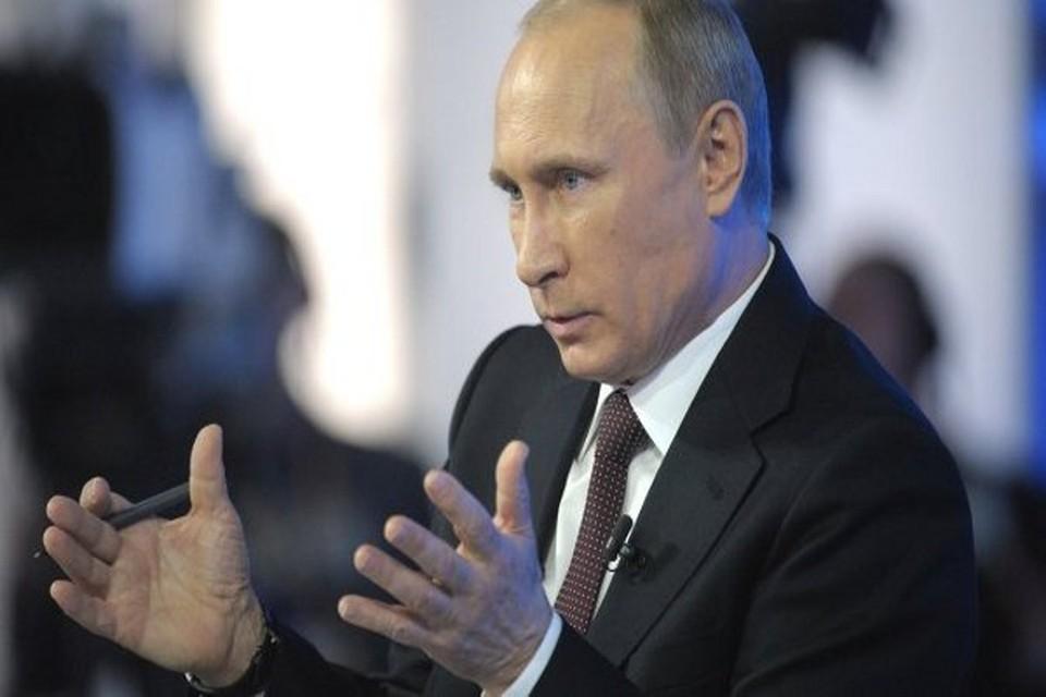 Путин: В одиночку борясь с терроризмом, Сирия несет серьезные потери