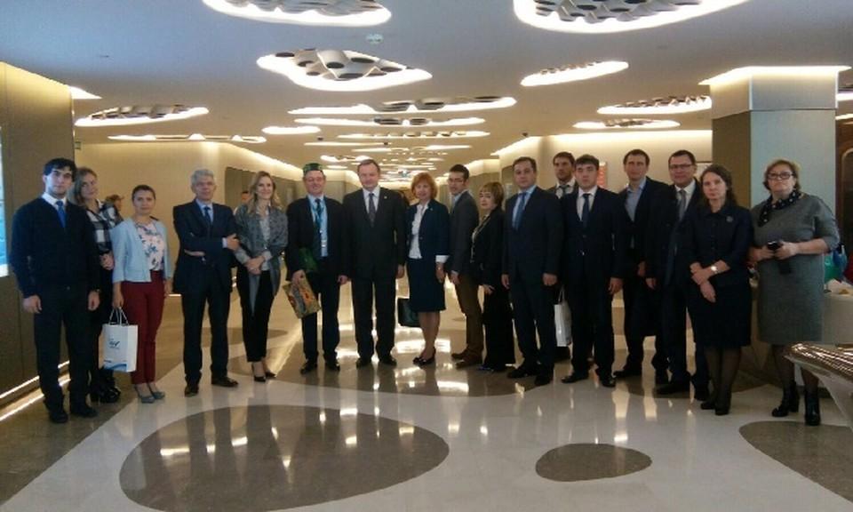 Татарстанскую делегацию возглавил Адель Вафин.