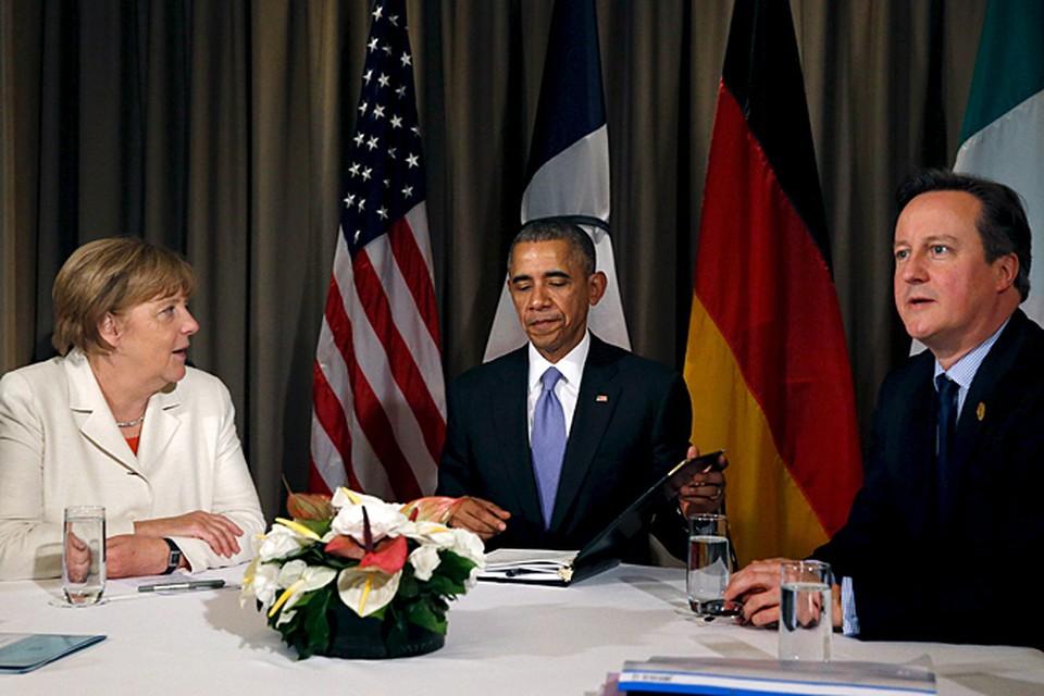 В одном из элитных отелей в Анталье встретились президент США Барак Обама, канцлер Германии Ангела Меркель, премьер-министр Великобритании Дэвид Кэмерон