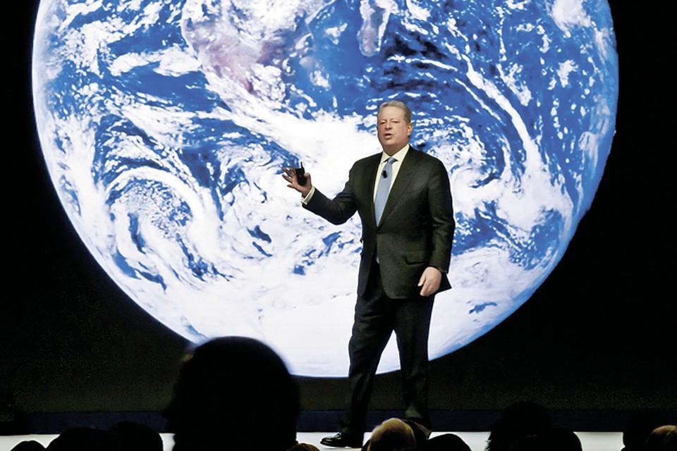 Нобелевский лауреат, оскароносец Альберт Гор заработал на торговле воздухом миллионы. Фото: Michel Euler/ASSOCIATED PRESS