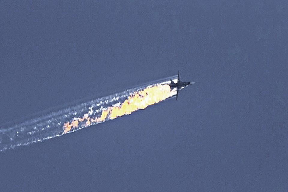Утром вторника ВВС Турции сбили российский фронтовой бомбардировщик Су-24М в небе над Сирией.
