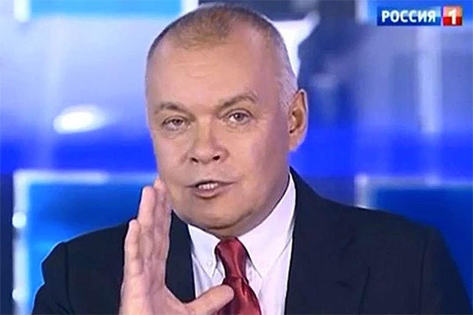Ведущий программы «Вести недели» Дмитрий Киселёв предложил отказаться от общепринятой формулировки террористической организации