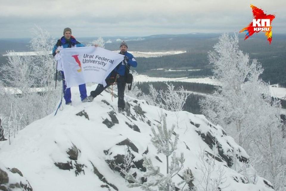 Местом для заключительной тренировки ученых стала гора Волчиха под Екатеринбургом.