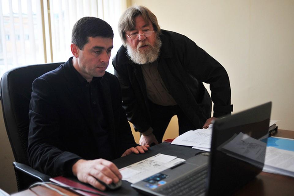 Николай Варсегов с замом министра сельского хозяйства Абхазии