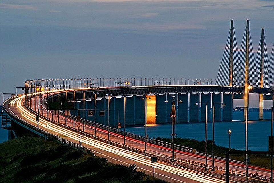 если мост через северное море в копенгаген друзей, используя деньги
