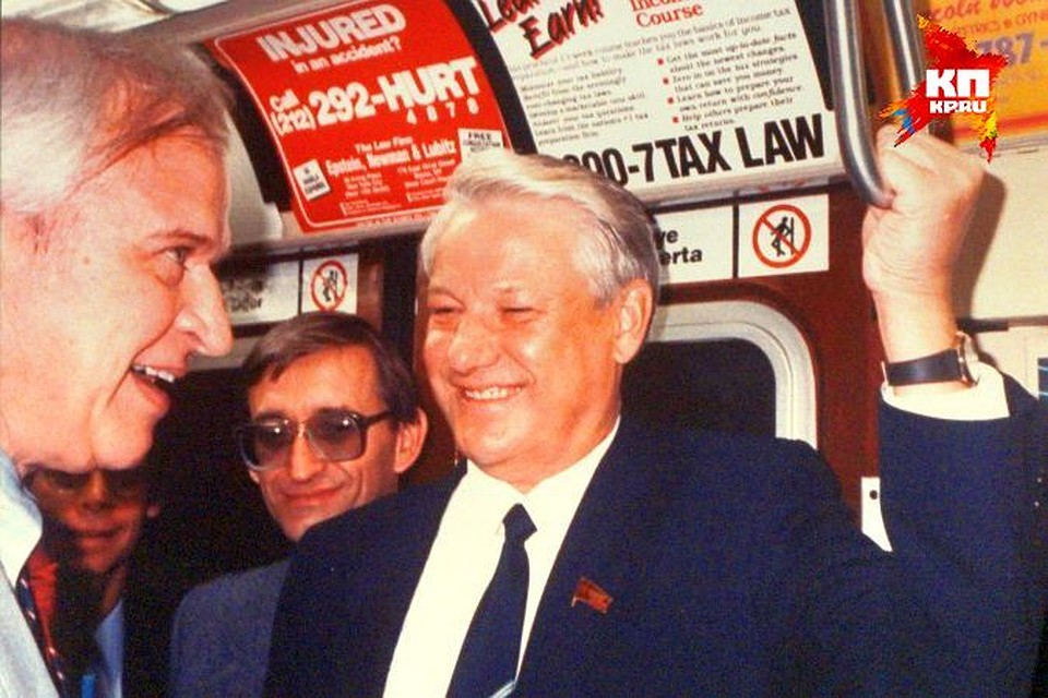 Борис Ельцин в американском метро в 1989-м году. Фото: предоставлено Президентским центром Б.Н. Ельцина. David Aikman/Time & Life Pictures/ Getty Images